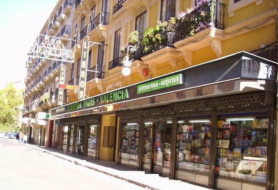 LIBRERIA PARIS VALENCIA-PELAYO